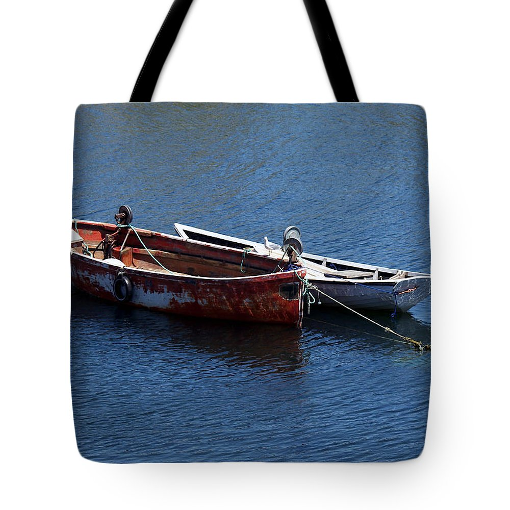 Boats Tote Bag featuring the photograph At Rest by Kelvin Booker