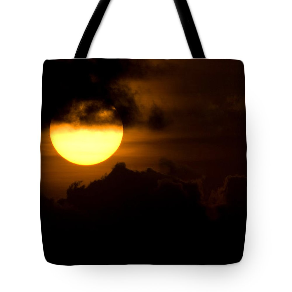 Cloud Tote Bag featuring the photograph At The End Of The Day by Max Steinwald