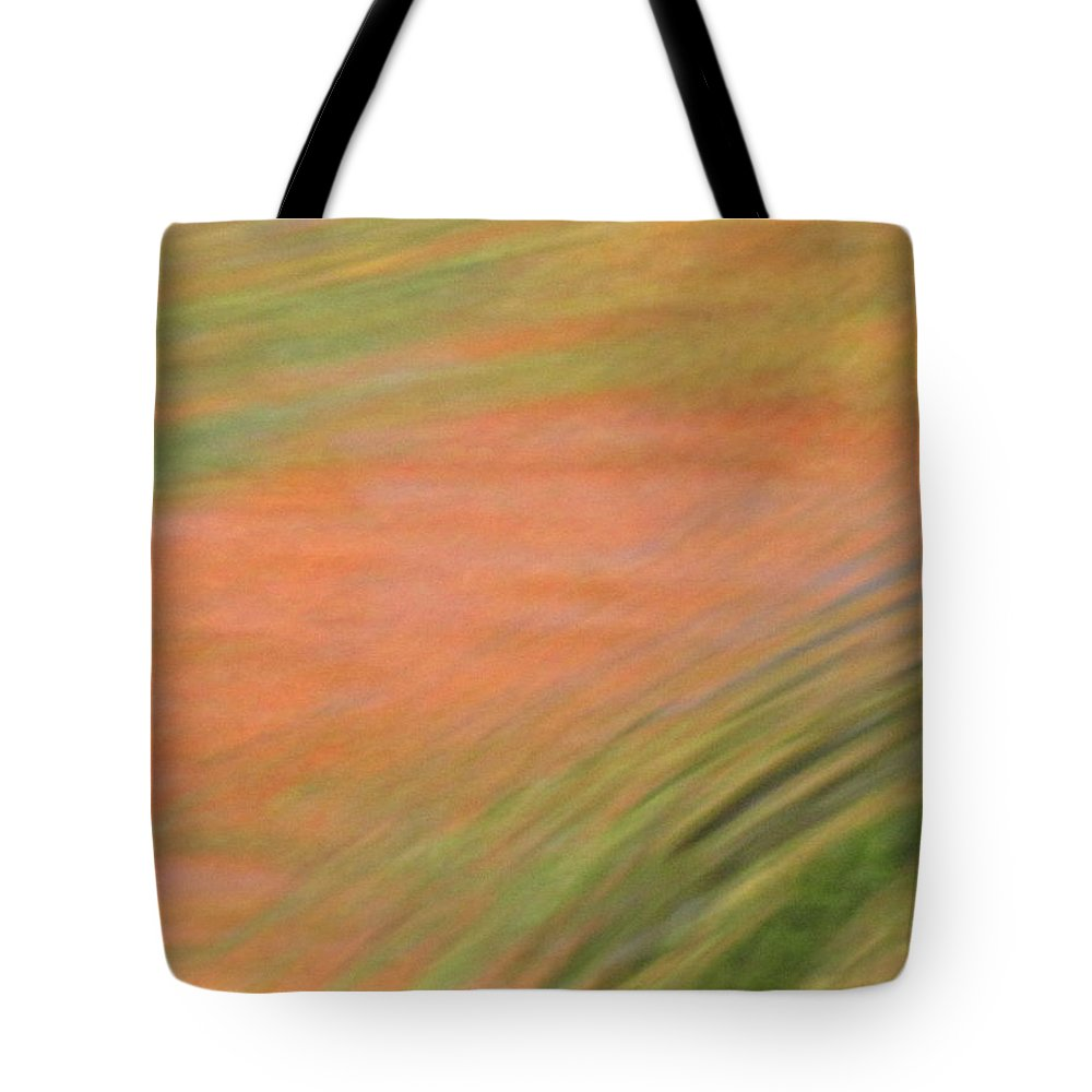 Abstract Art Tote Bag featuring the photograph At The Subtle Feeling Level by Sybil Staples