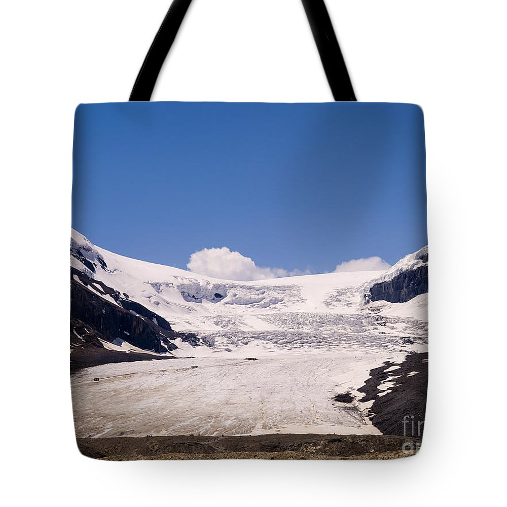 Canada Tote Bag featuring the photograph Athabasca Glacier by Tracy Knauer