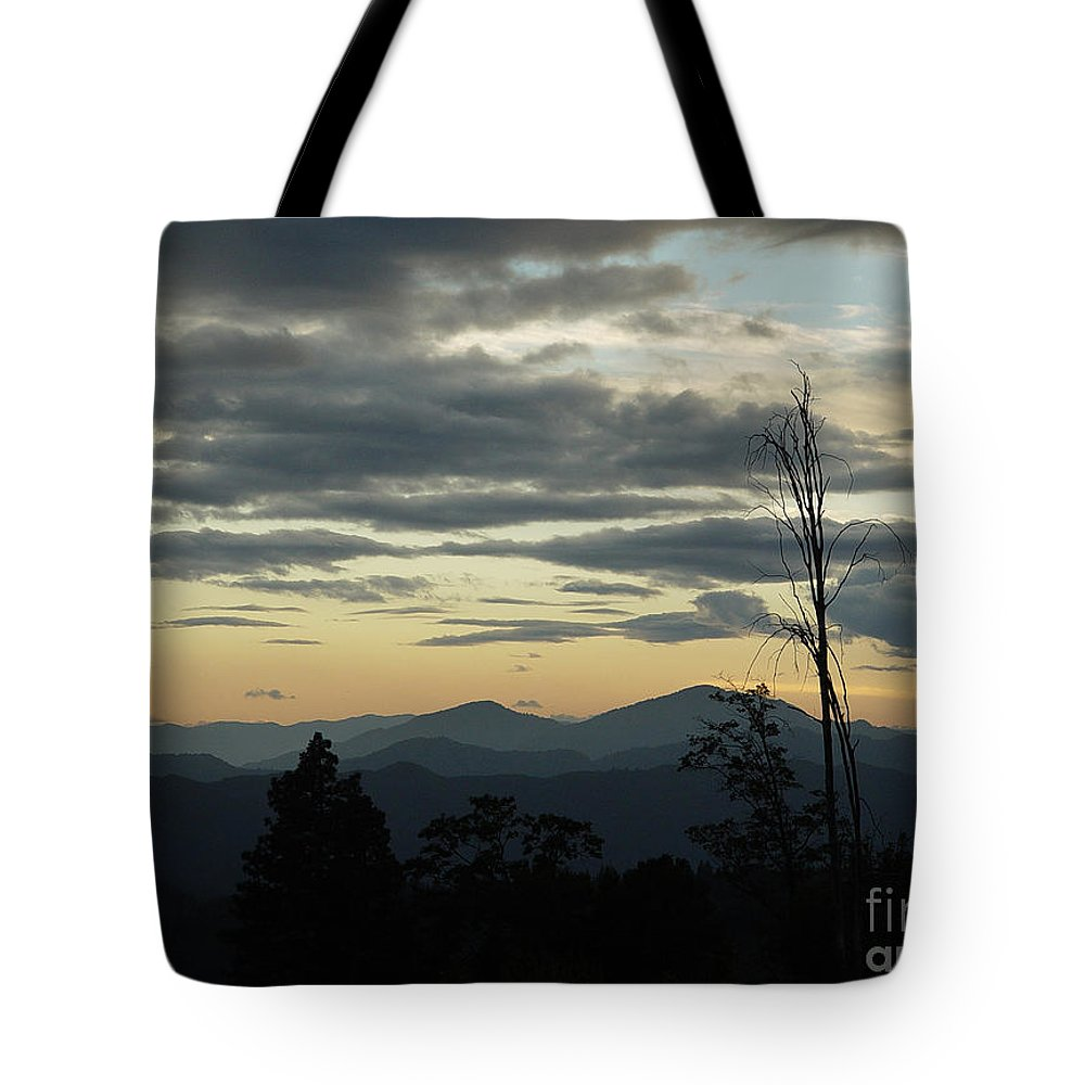 Atmospheric Tote Bag featuring the photograph Atmospheric Perspective by Peter Piatt