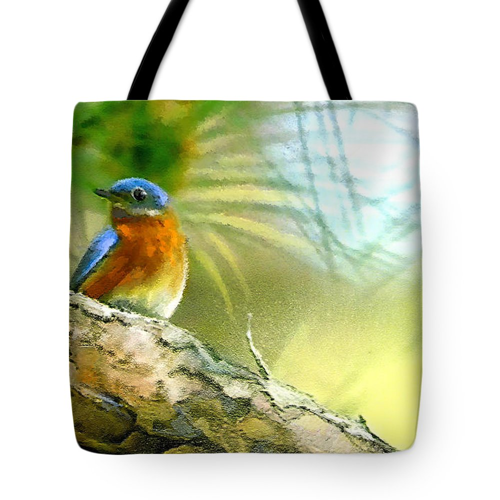 Golf Tote Bag featuring the painting Augusta Masters 2010 05 by Miki De Goodaboom