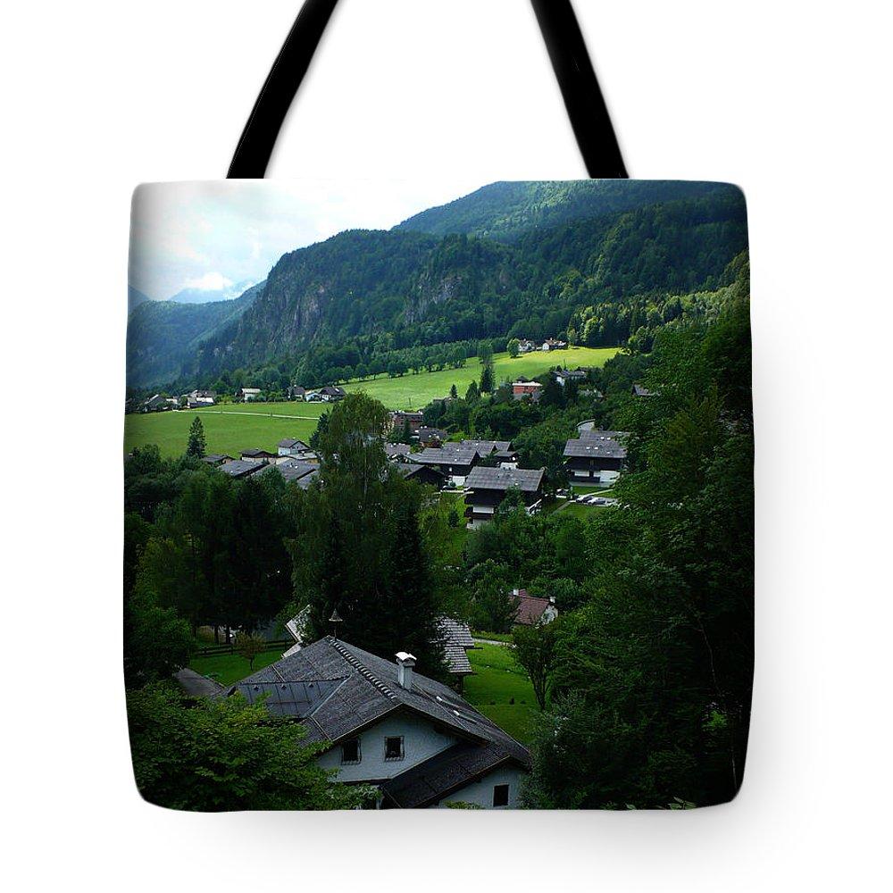 Austria Tote Bag featuring the photograph Austrian Landscape by Carol Groenen