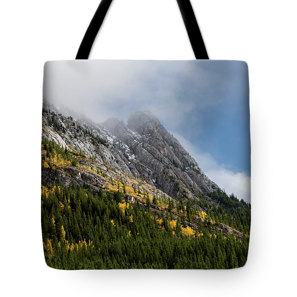 Landscape Tote Bag featuring the photograph Autumn Arrives by Brian Mulder