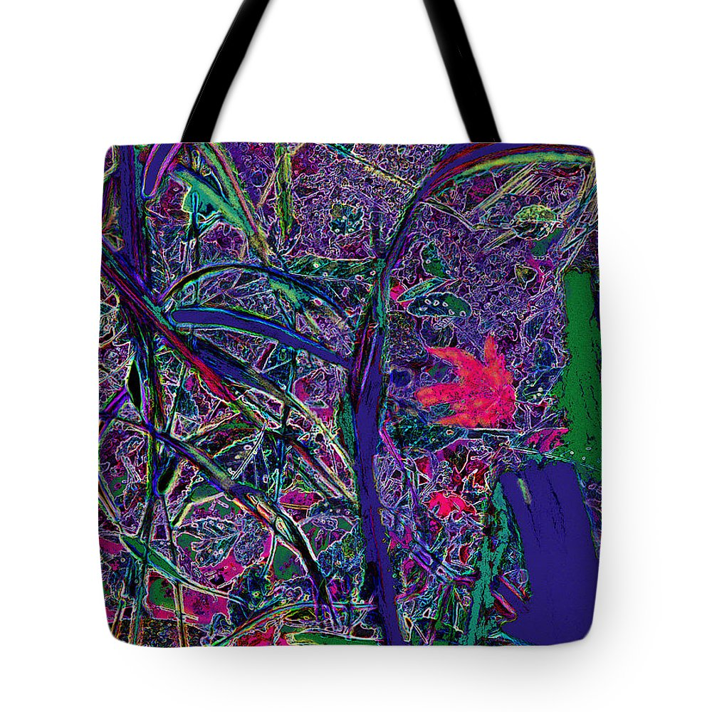 Leaves Tote Bag featuring the photograph Autumn Carpet by Ian MacDonald