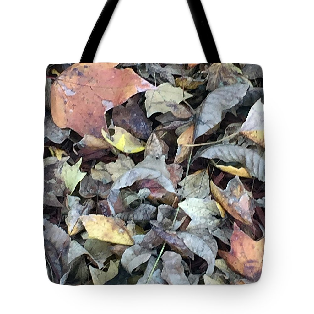 Autumn Carpet Tote Bag featuring the photograph Autumn Carpet by James Pinkerton