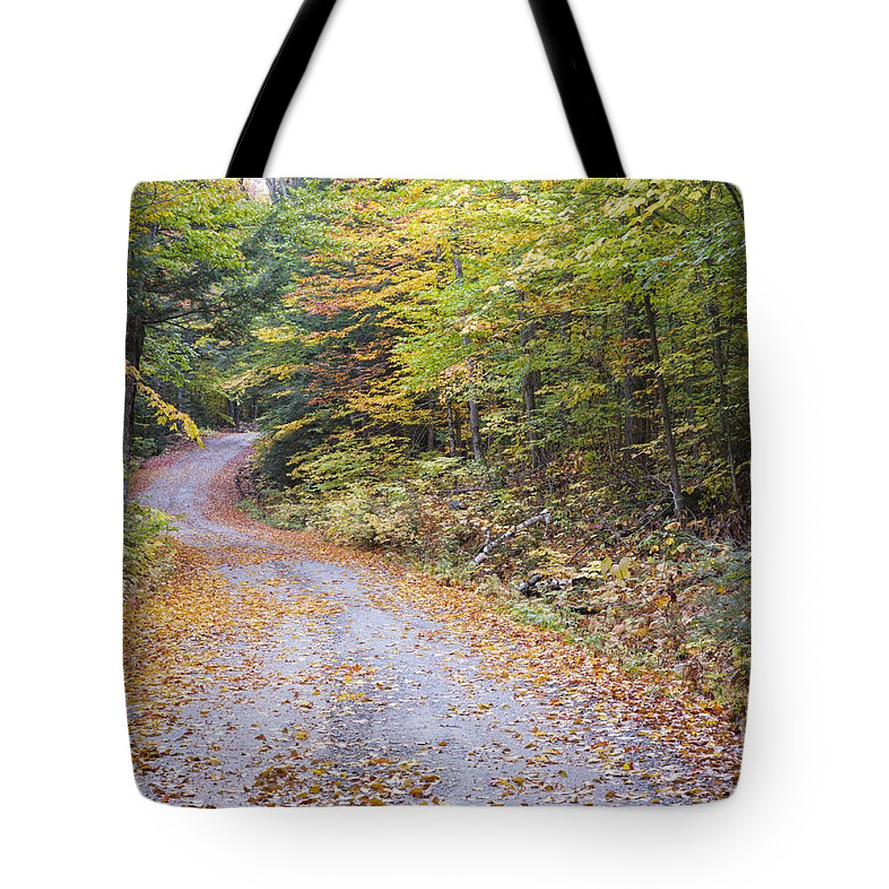 1800s Tote Bag featuring the photograph Autumn Foliage - Sandwich Notch Road New Hampshire by Erin Paul Donovan