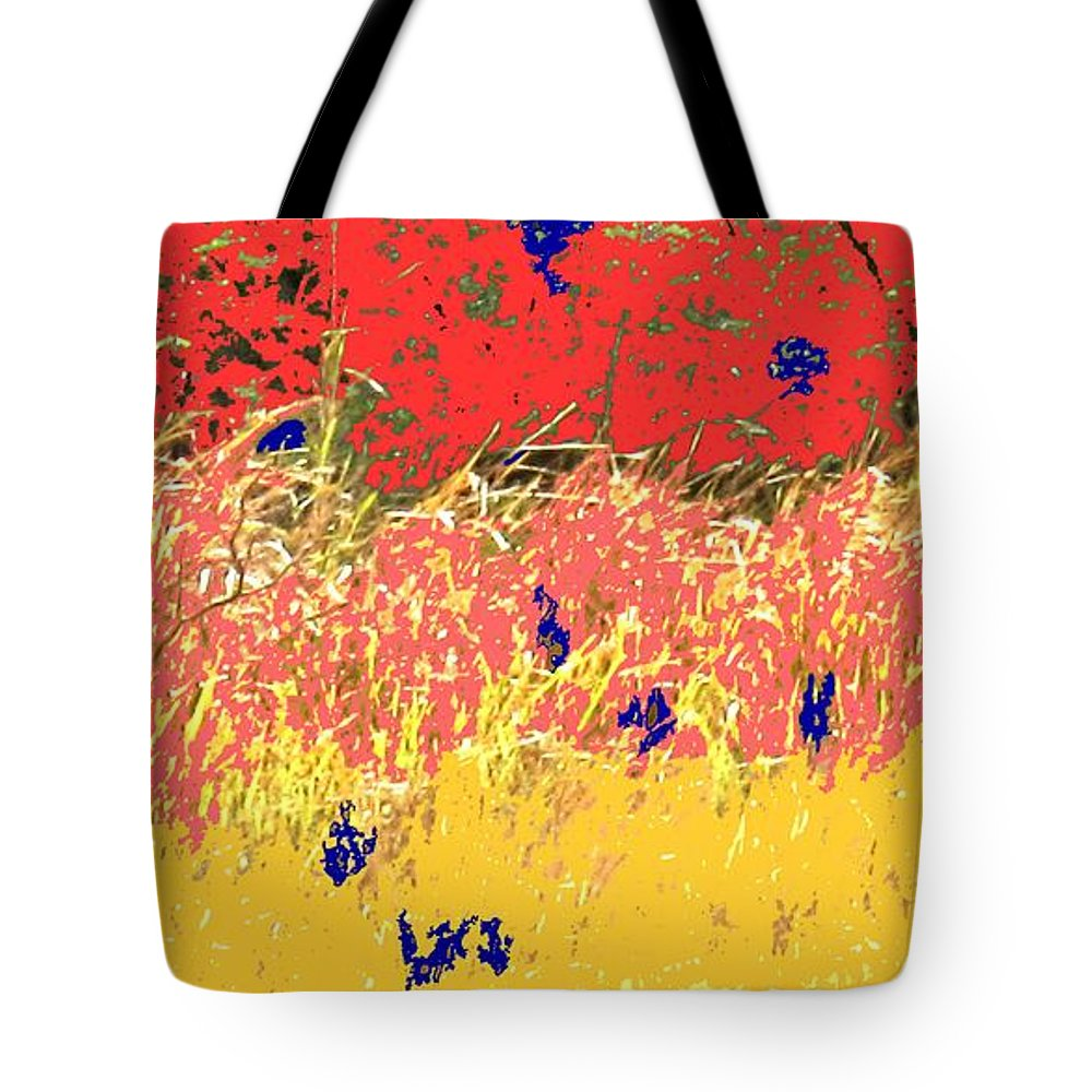 Autumn Tote Bag featuring the photograph Autumn Grasses by Ian MacDonald
