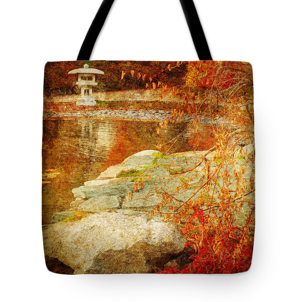 Autumn Tote Bag featuring the photograph Autumn In The Gardens by Tara Turner