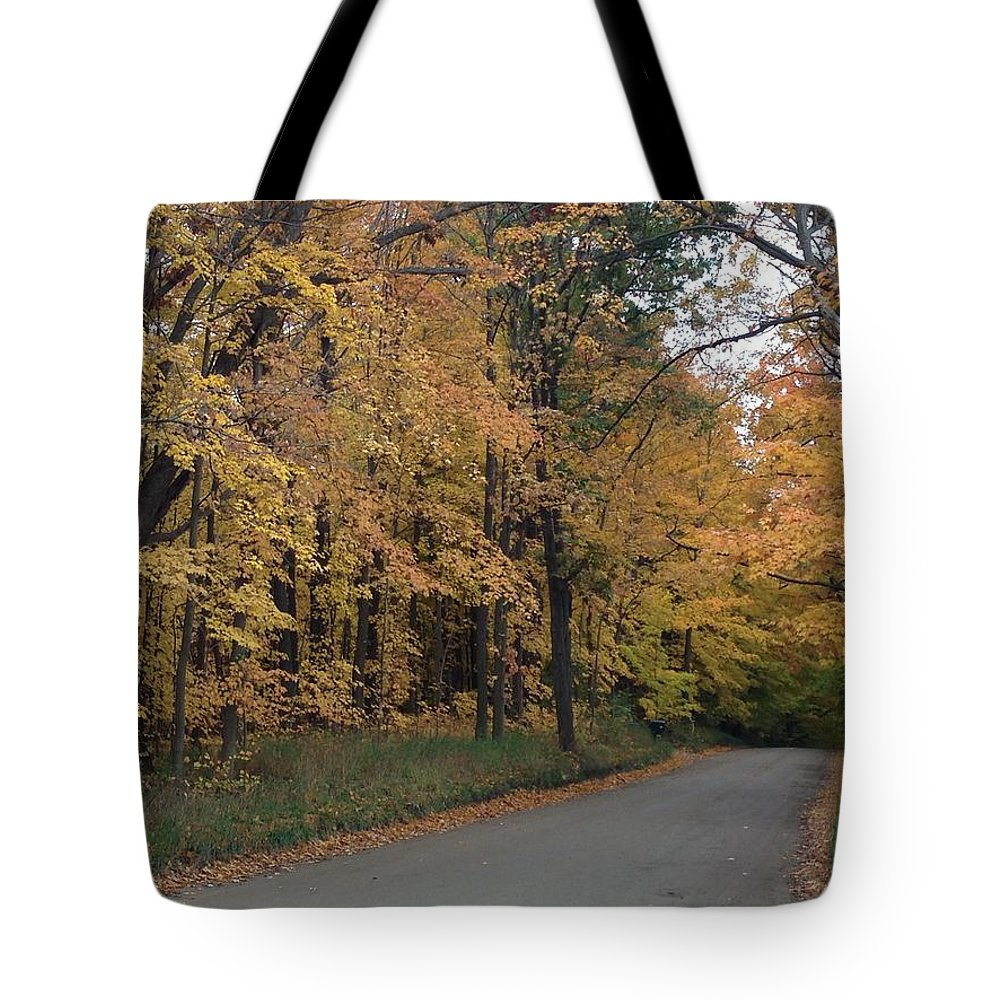 Pure Michigan Tote Bag featuring the digital art Autumn by 2141 Photography