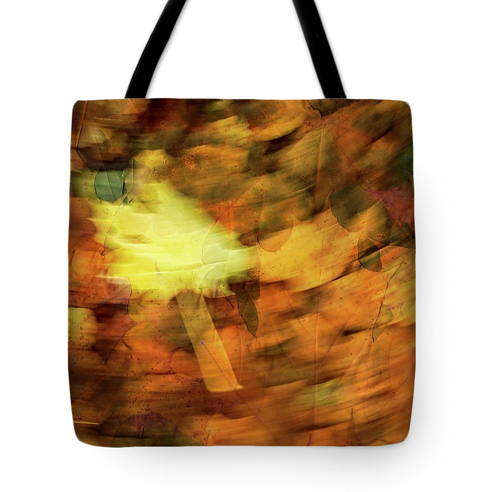 Autumn Tote Bag featuring the photograph Autumn Leaves by Michael Mogensen