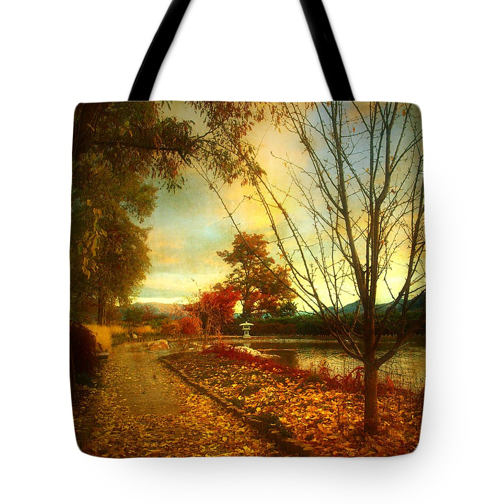 Autumn Tote Bag featuring the photograph Autumn Magic by Tara Turner