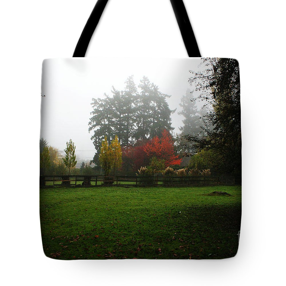 Nature Tote Bag featuring the photograph Autumn Memories by Michelle Williamson