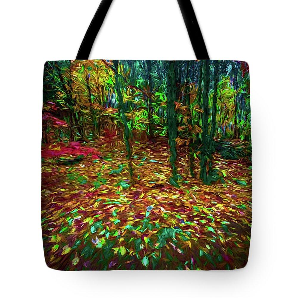 Michael Setiabudi Tote Bag featuring the photograph Autumn H5 by Michelle Saraswati