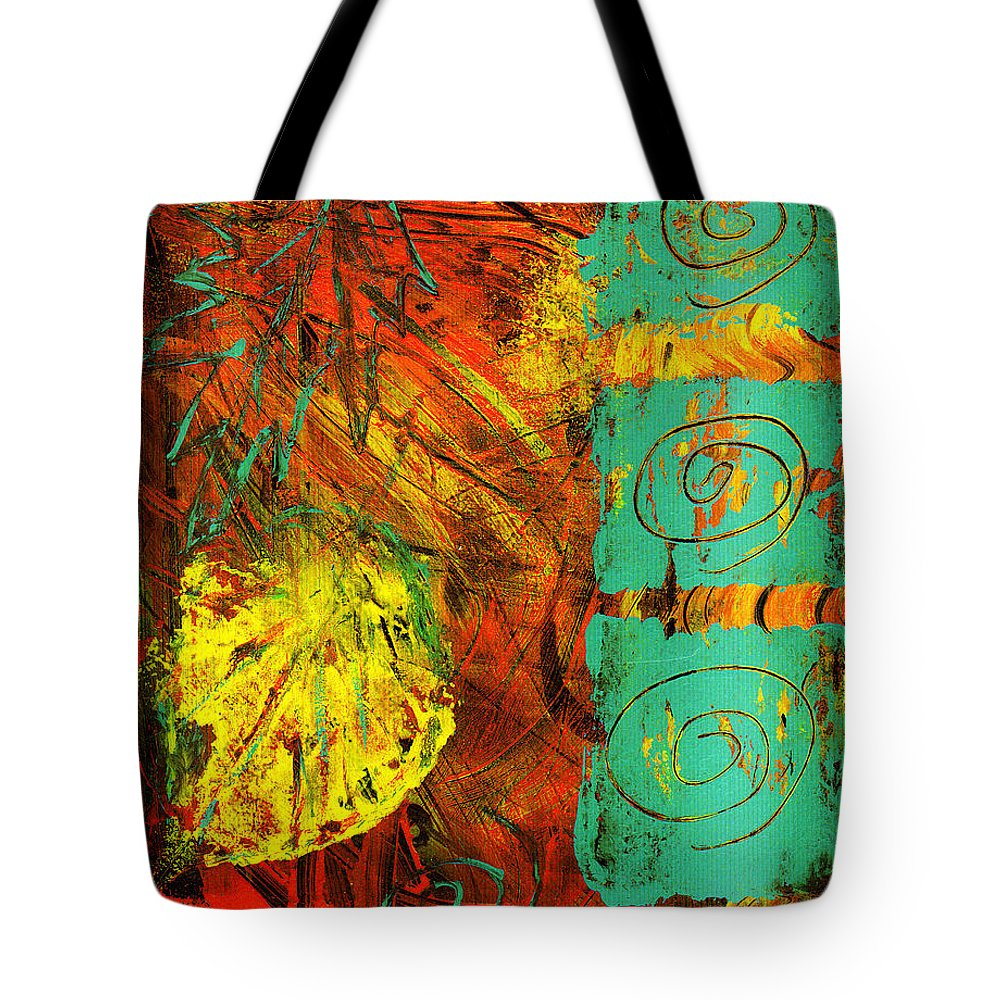 Autumn Tote Bag featuring the painting Autumn by Wayne Potrafka