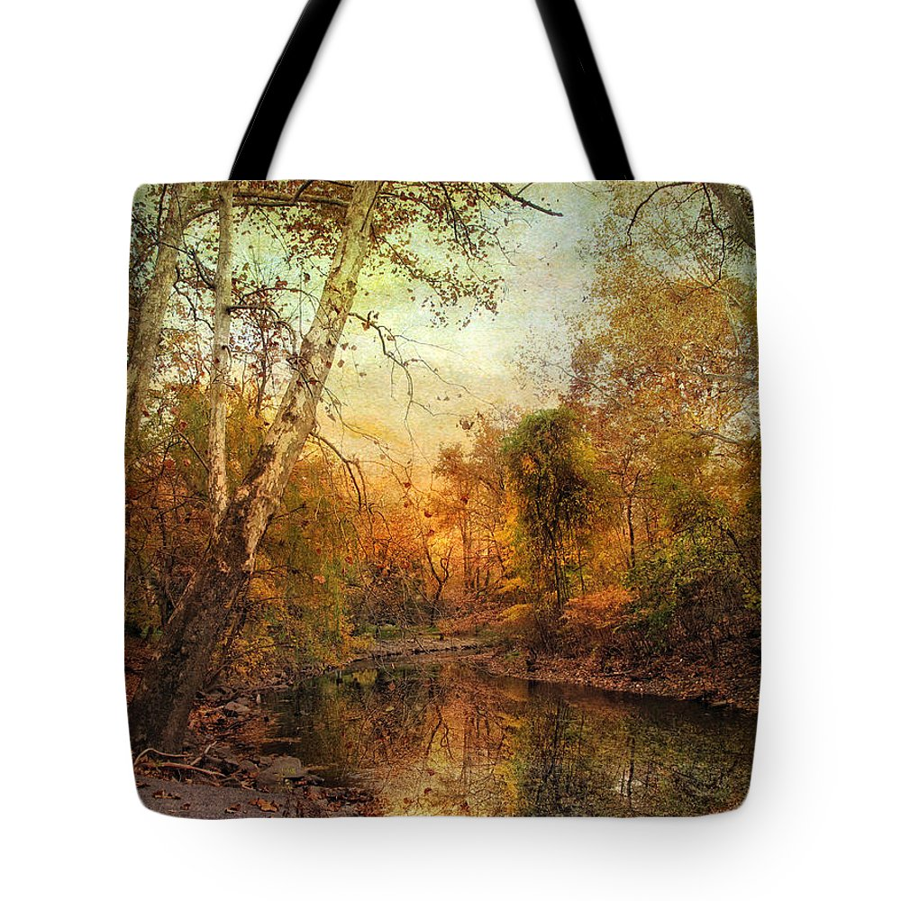 Autumn Tote Bag featuring the photograph Autumnal Tones by Jessica Jenney
