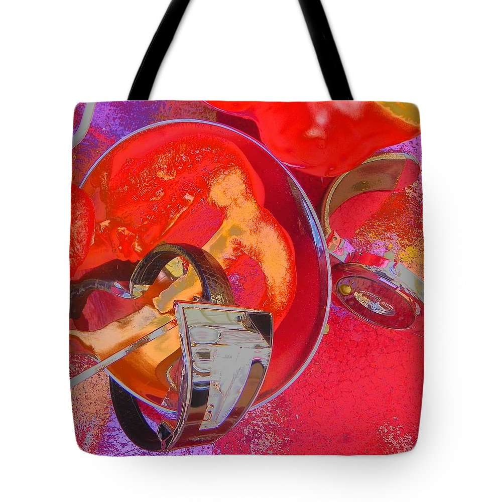 Waches Tote Bag featuring the photograph Avant Garde Dinner by Evguenia Men
