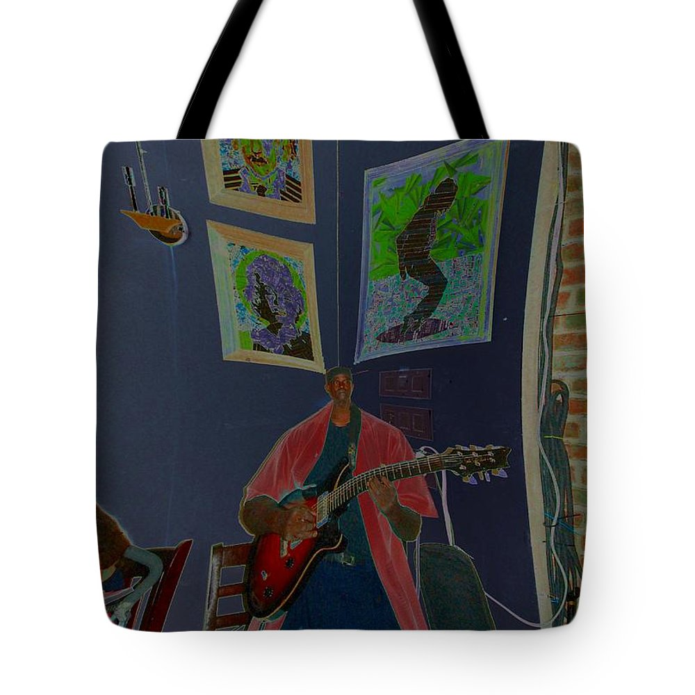 Jazz Tote Bag featuring the photograph Avant Garde by Mel Neuhaus