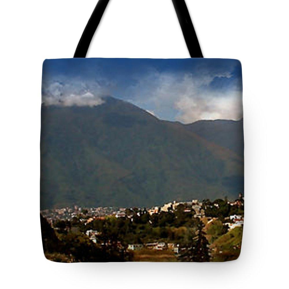 Digital Art Tote Bag featuring the photograph Avila 2 by Bibi Rojas