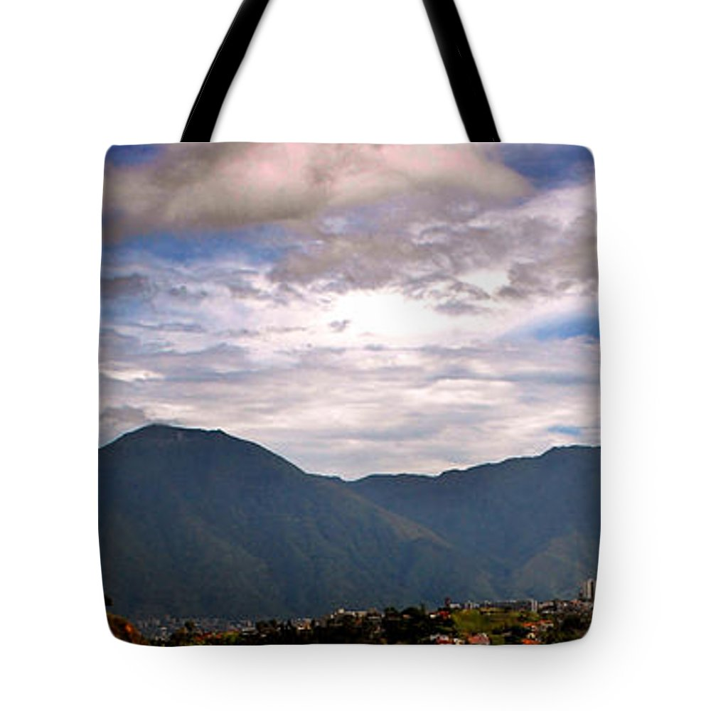 Avila Tote Bag featuring the photograph Avila 3 by Bibi Rojas