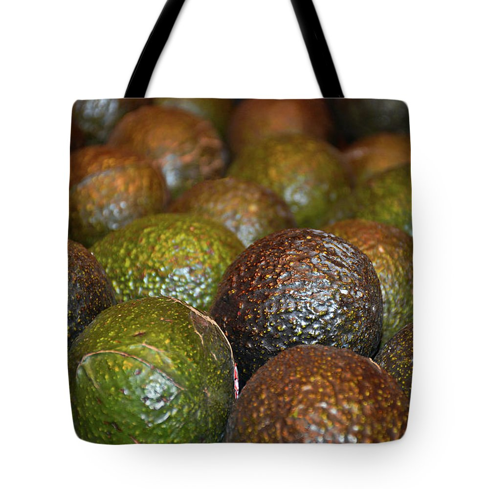 Avocados Tote Bag featuring the photograph Avocados by Robert Meyers-Lussier