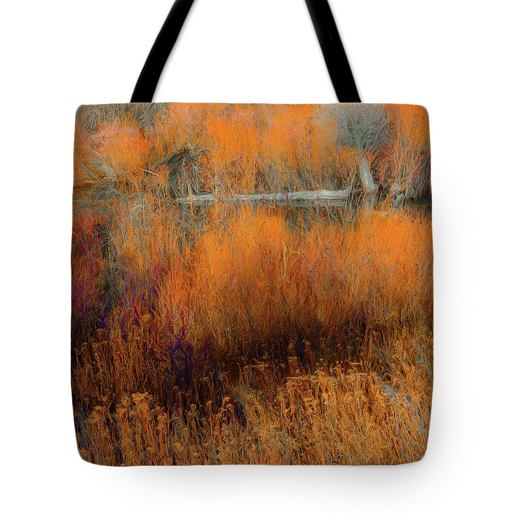 Fall Color Tote Bag featuring the photograph Awaiting Passage by Dean Arneson