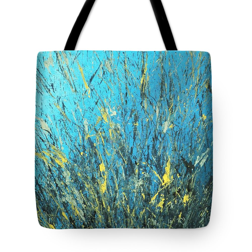Splash Tote Bag featuring the painting Awakening by Todd Hoover