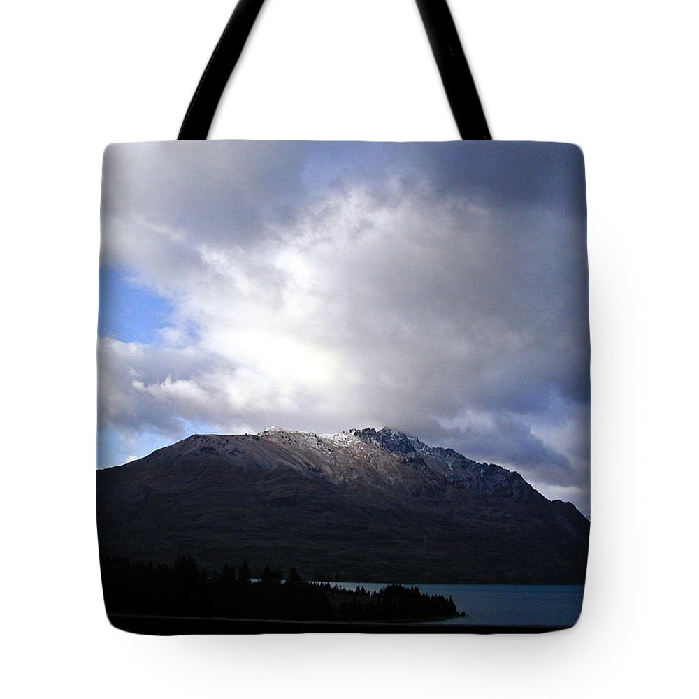 Mountains Tote Bag featuring the photograph Awesome Aspect Mountain by Douglas Barnett
