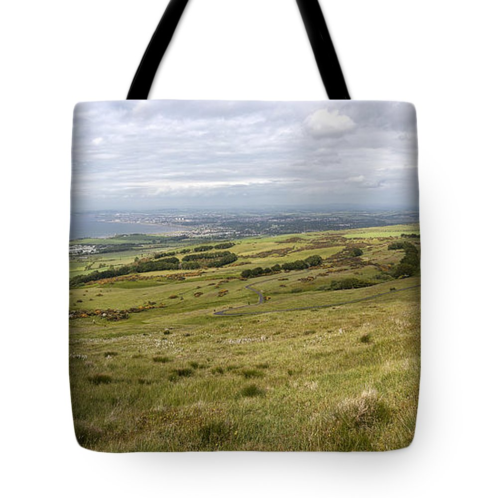Ayr Tote Bag featuring the photograph Ayr by Eunice Gibb
