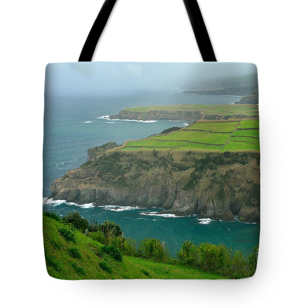 Azores Tote Bag featuring the photograph Azores Coastal Landscape by Gaspar Avila