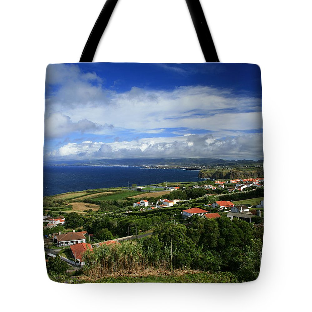 Archipelago Tote Bag featuring the photograph Azores Islands Landscape by Gaspar Avila