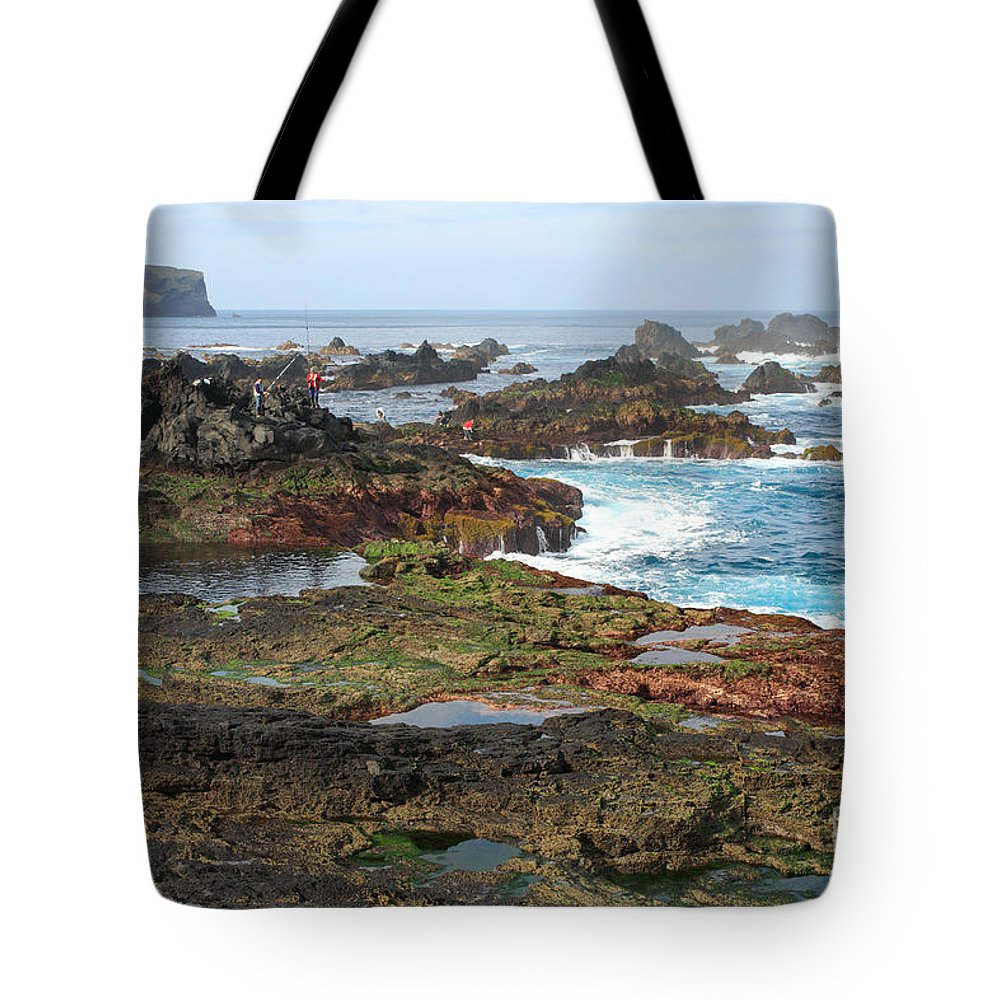 Atlantic Tote Bag featuring the photograph Azores Seascape by Gaspar Avila