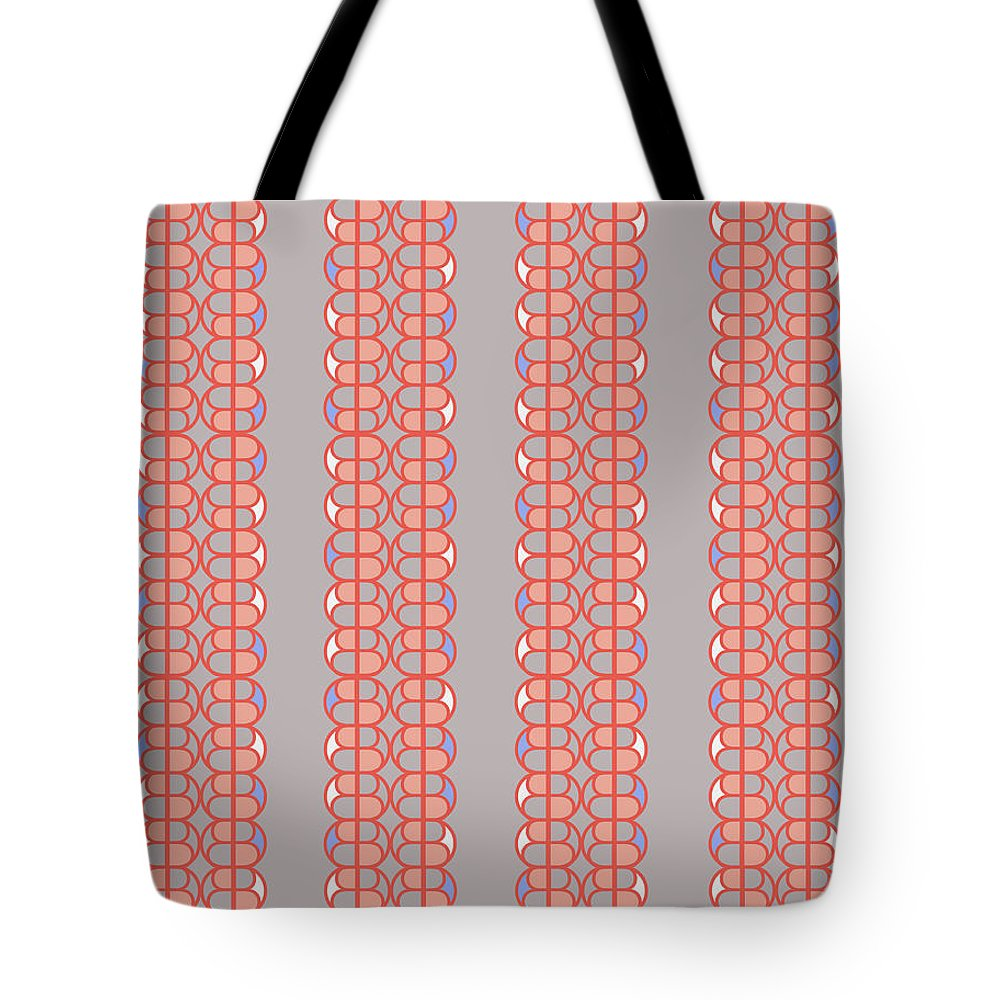 Grey Tote Bag featuring the digital art B Honey by Ceil Diskin