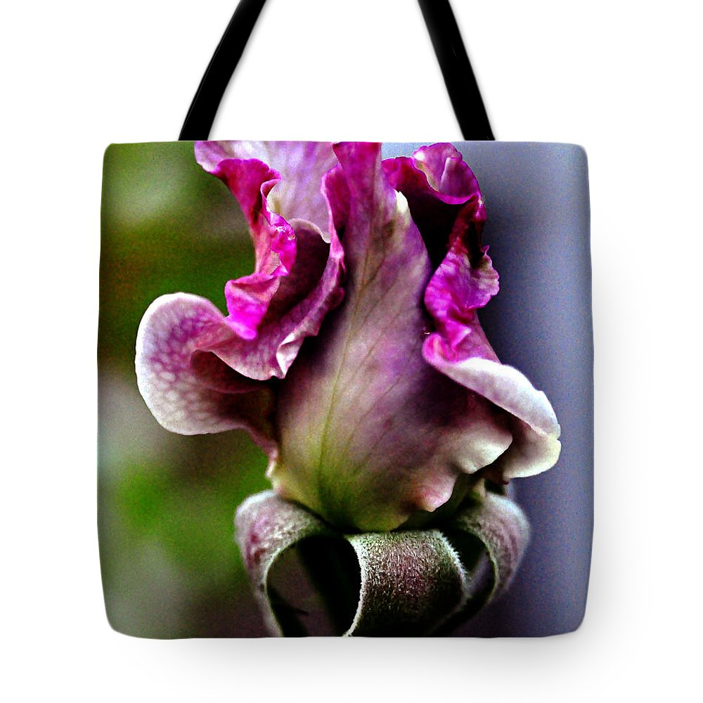 Clay Tote Bag featuring the photograph Baby Bud by Clayton Bruster