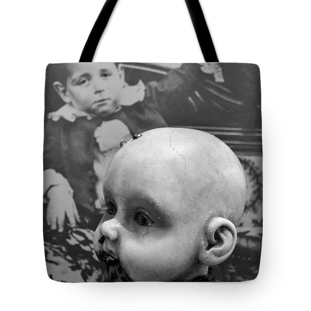 Baby Tote Bag featuring the photograph Baby Face by Beverly Shelby