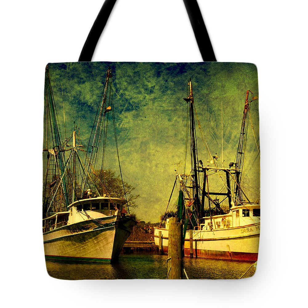 Harbor Tote Bag featuring the photograph Back Home In The Harbor by Susanne Van Hulst