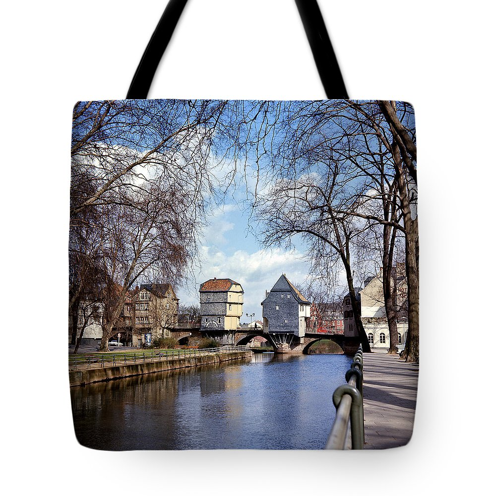 Germany Tote Bag featuring the photograph Bad Kreuznach 5 by Lee Santa
