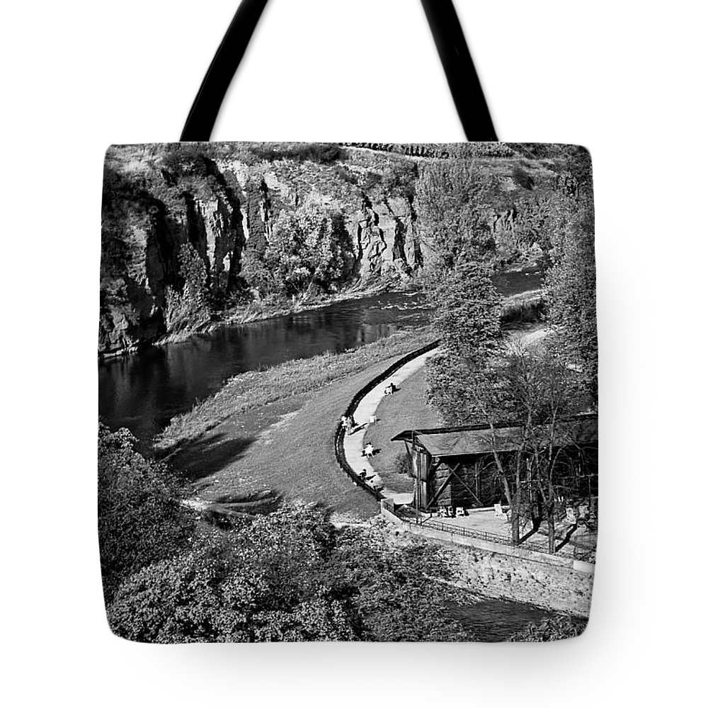 Tote Bag featuring the photograph Bad Kreuznach 9 by Lee Santa