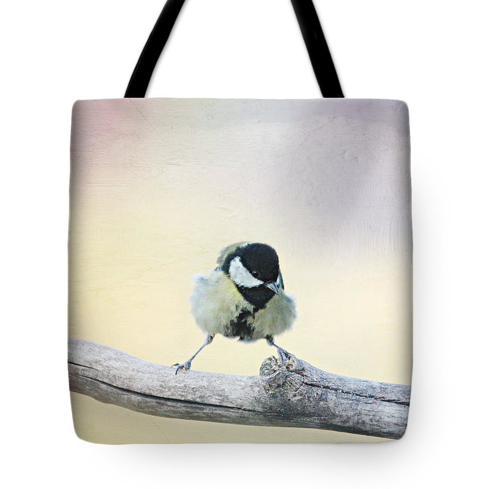 Balancing Act Tote Bag featuring the photograph Balancing Act by Heike Hultsch