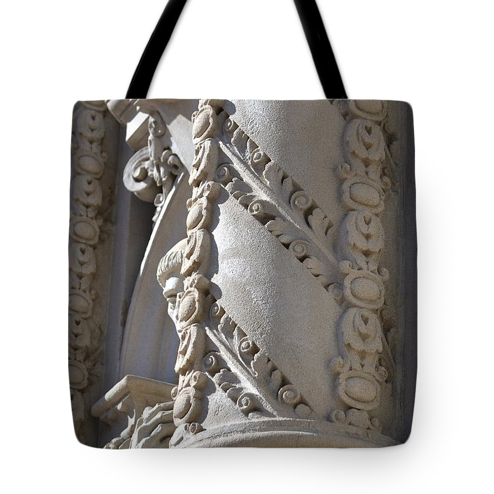 Carving Tote Bag featuring the photograph Balboa Park, San Diego by Dean Ferreira