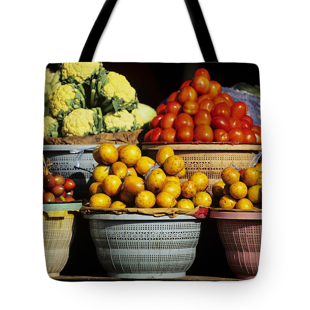 Bali Tote Bag featuring the photograph Bali Food by Dana Edmunds - Printscapes
