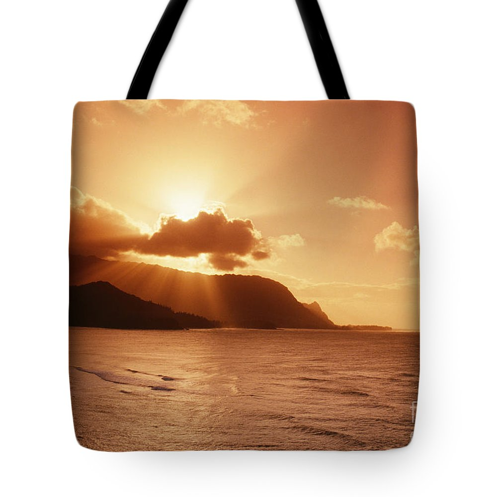 Bali Hai Tote Bag featuring the photograph Bali Hai Poin by Joe Carini - Printscapes