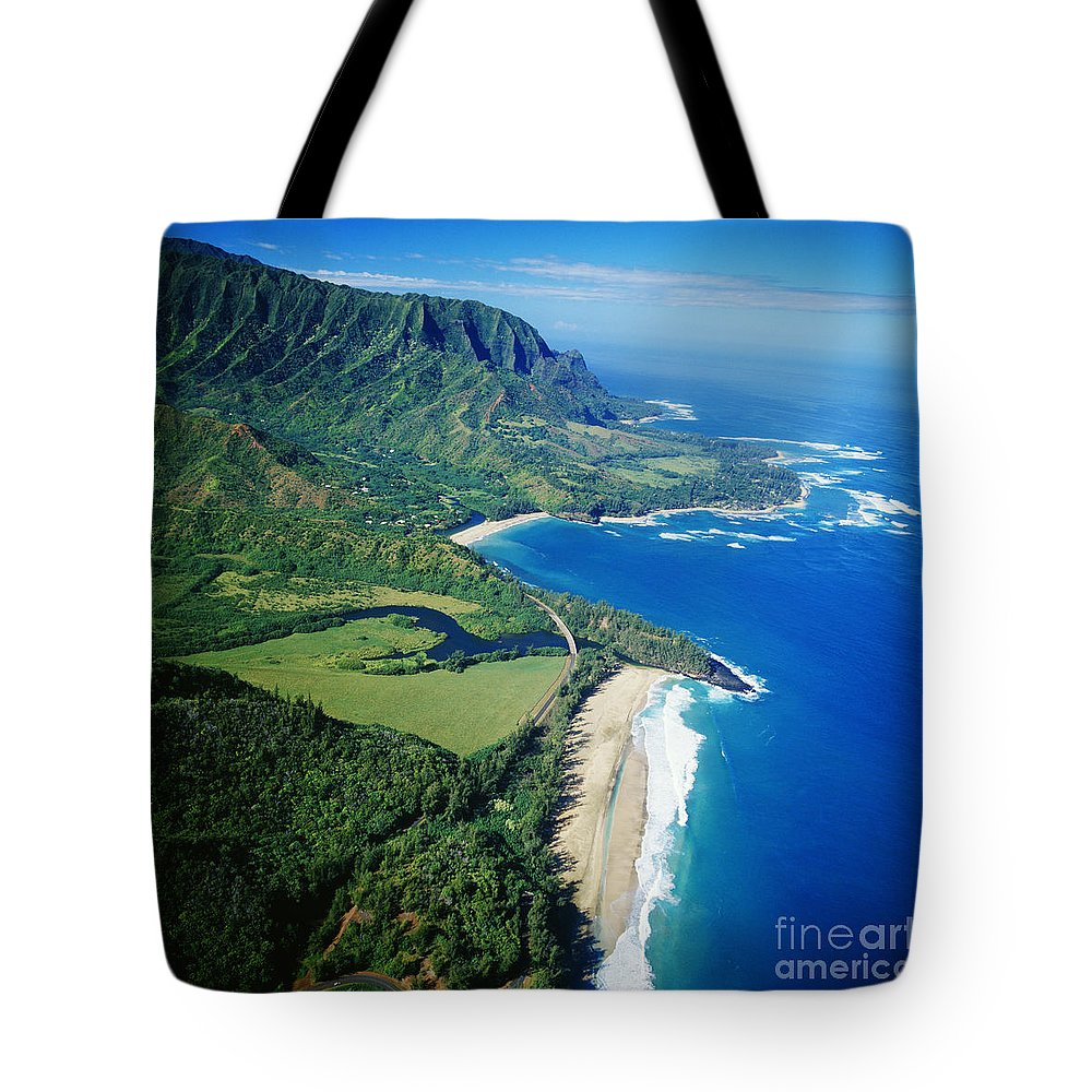 Above Tote Bag featuring the photograph Bali Hai Point. by David Cornwell/First Light Pictures, Inc - Printscapes
