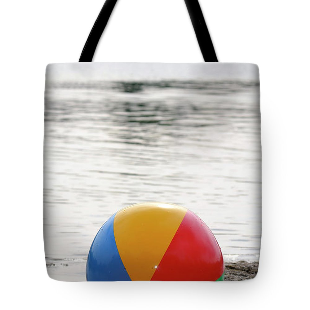 Beach Tote Bag featuring the photograph Ball Of Fun by Traci Cottingham