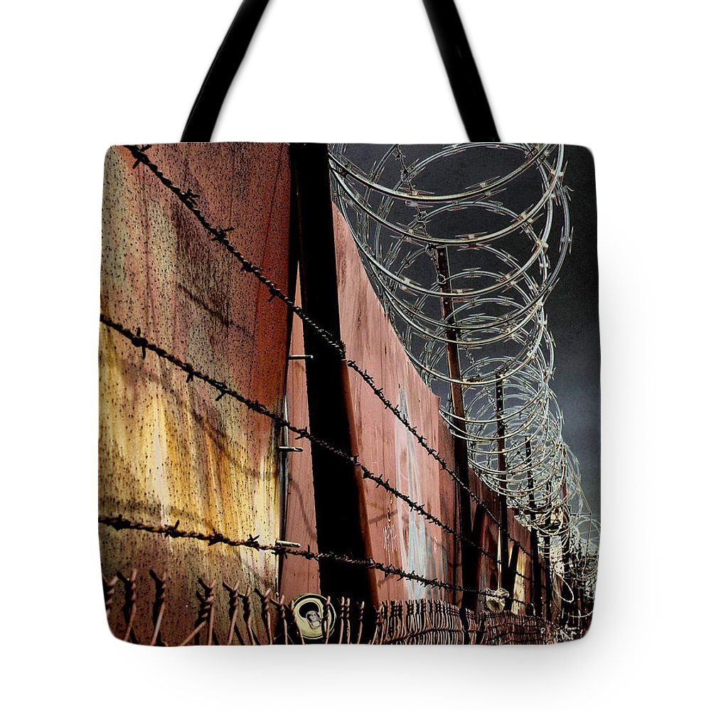 Wall Tote Bag featuring the photograph Ballard In Seattle by Jeff Burgess