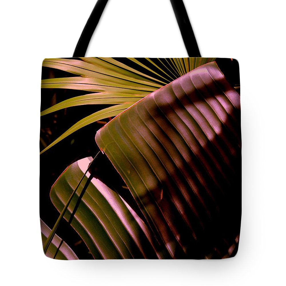 Banana Tote Bag featuring the photograph Banana Leaf by Susanne Van Hulst