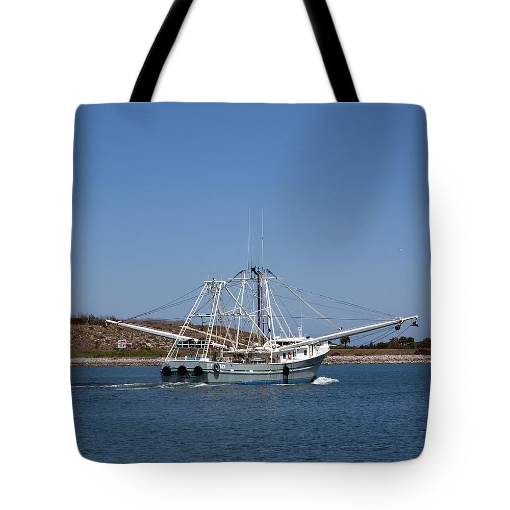 Florida Tote Bag featuring the photograph Band Of Gold Departing Cape Canaveral by Allan Hughes