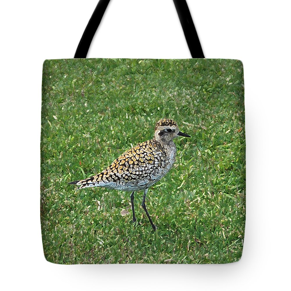 Bird Tote Bag featuring the photograph Bandit by Carol Eliassen