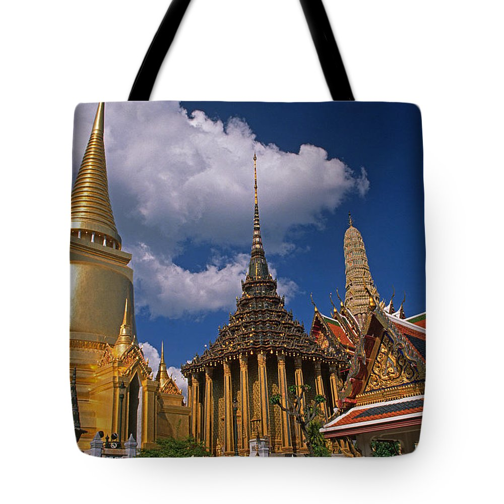 Asia Tote Bag featuring the photograph Bangkok by Michele Burgess