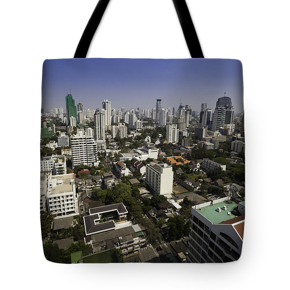 Bangkok Tote Bag featuring the photograph Bangkok - Thailand by Anthony Totah